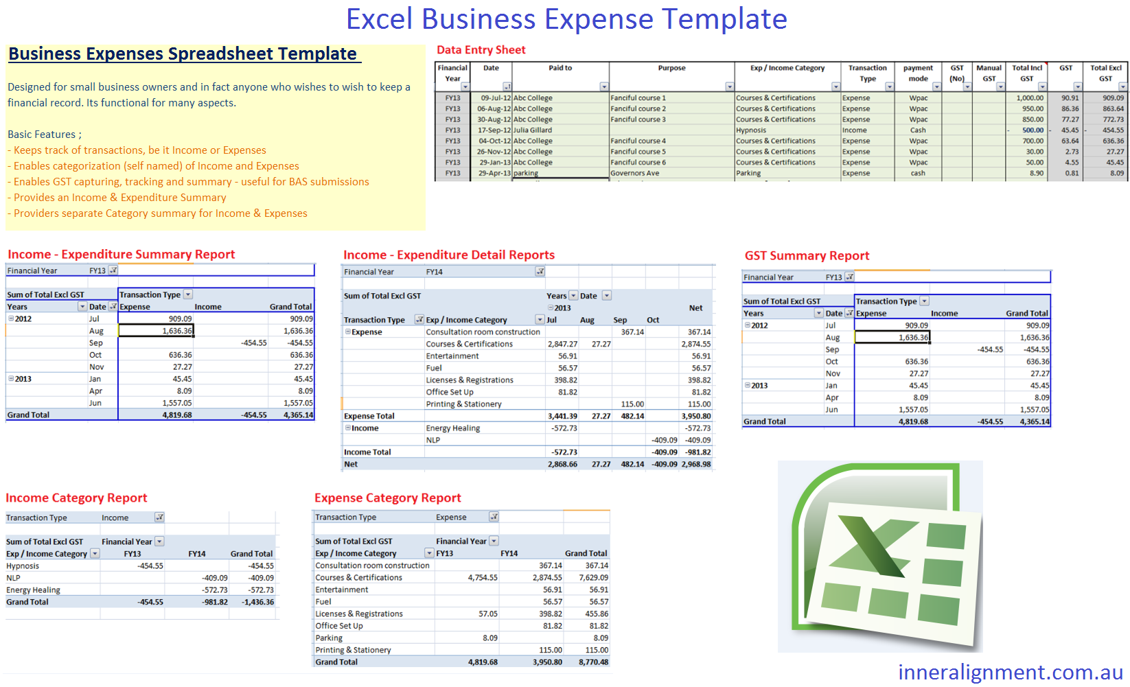 Spreadsheet For Recording Business Expenses and Small Business Spreadsheet For Income And Expenses