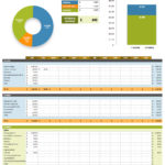 Spreadsheet For Small Business Expenses and Expenses Template Excel Free