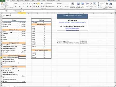 Tax Calculation Spreadsheet Excel