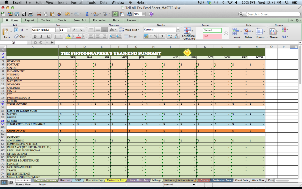 Trucking Profit And Loss Spreadsheet And Profit And Loss Statement