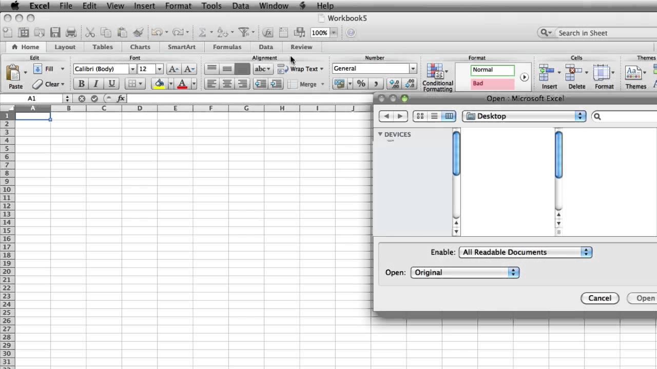 Spreadsheet Editor Online