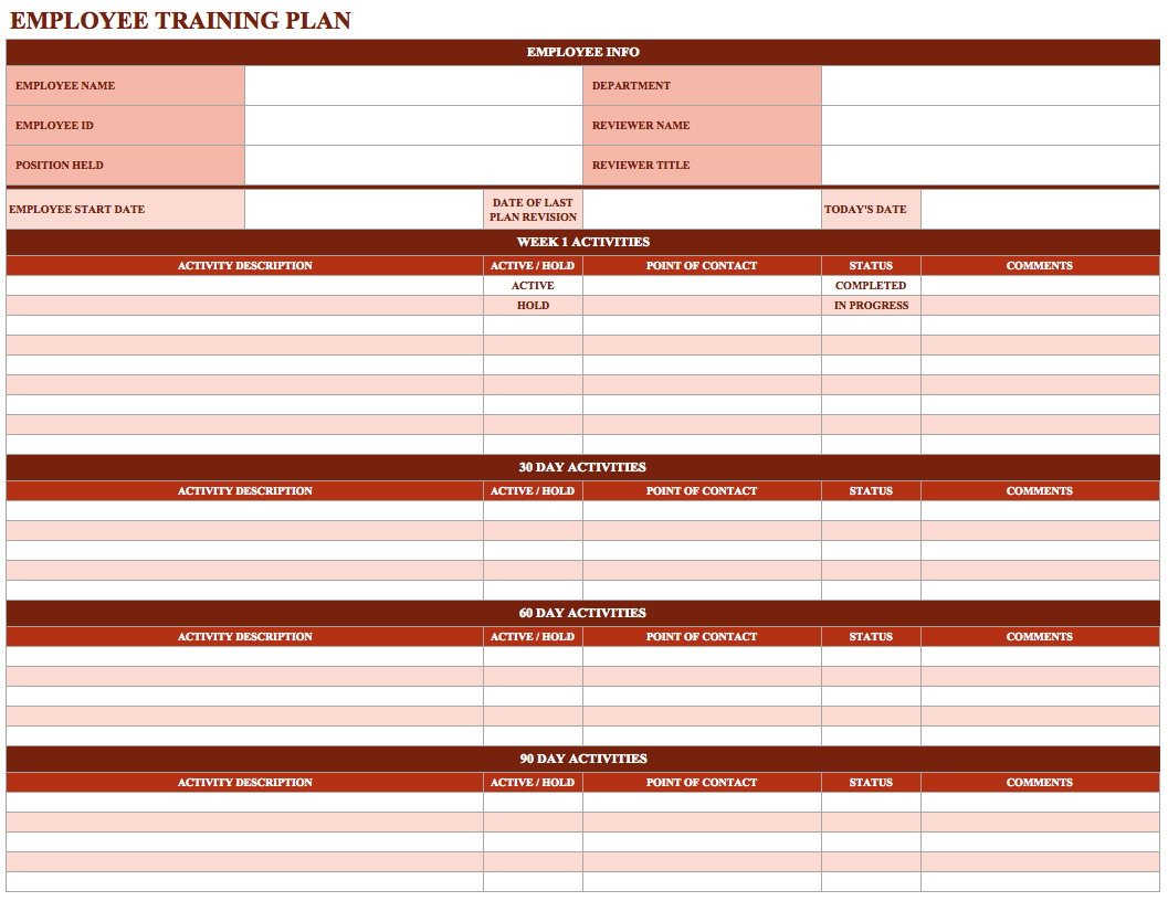 workout tracking sheet