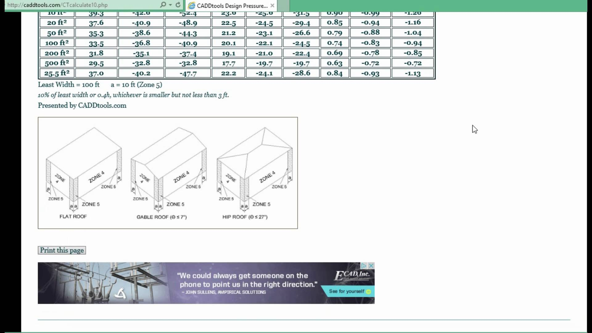 asce 7 10 wind load calculator free