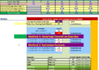 calorie tracker spreadsheet template