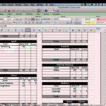 calories tracker spreadsheet free