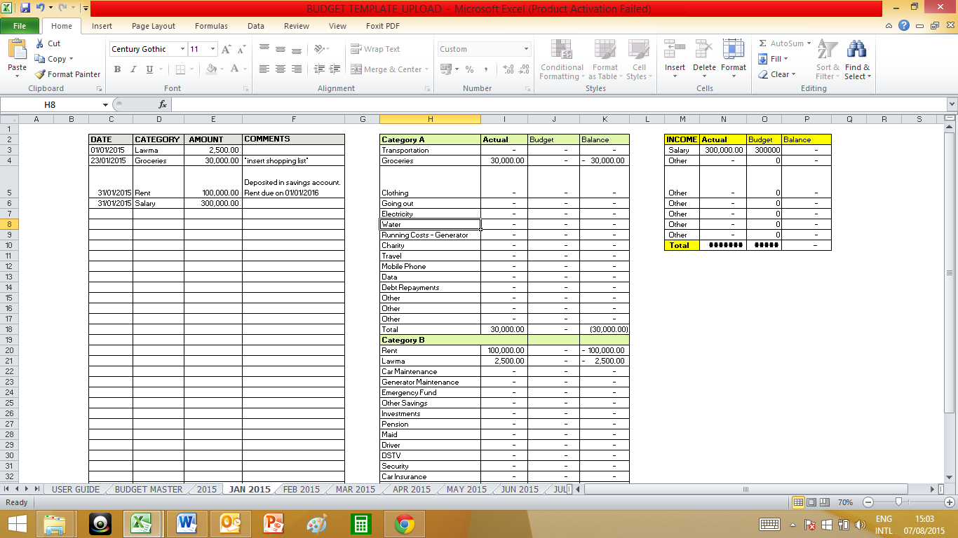 Church Tithe And Offering Spreadsheet | Natural Buff Dog