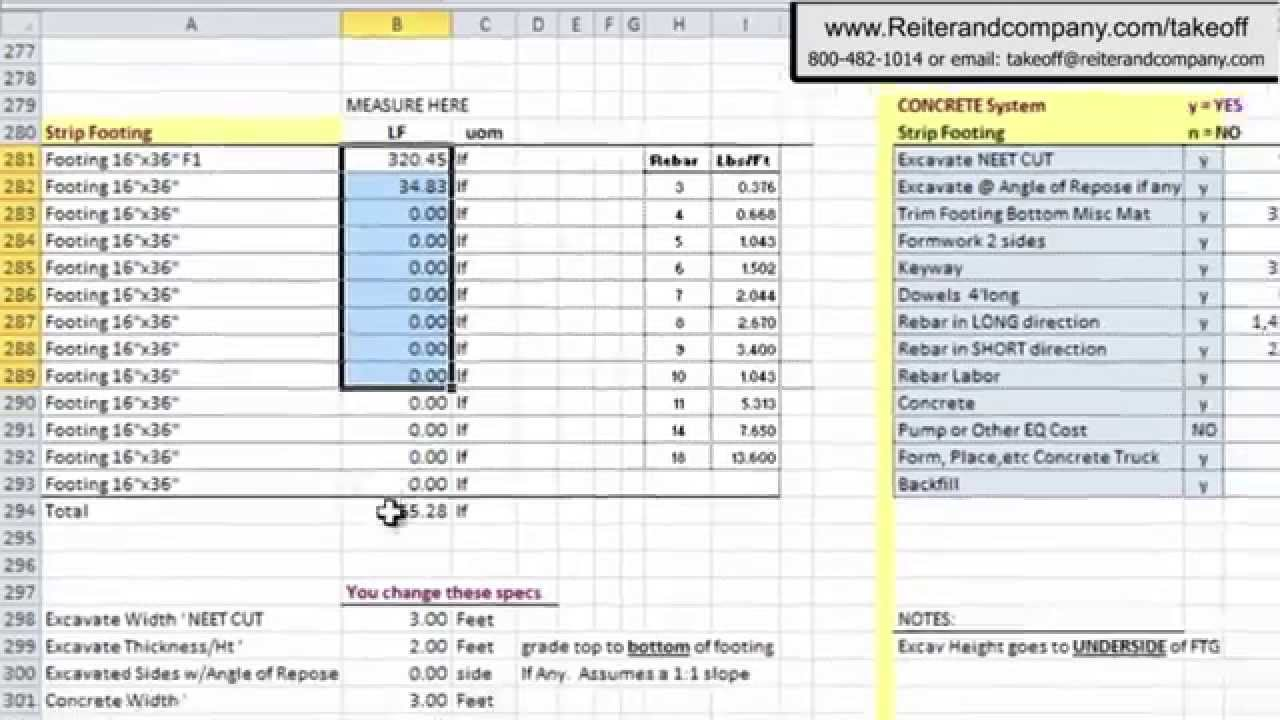 Construction material takeoff excel template natural for Material list for building a house spreadsheet