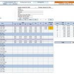 daily work schedule template excel 2010