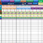 diet tracker spreadsheet templates