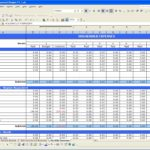 family budget spreadsheet excel free