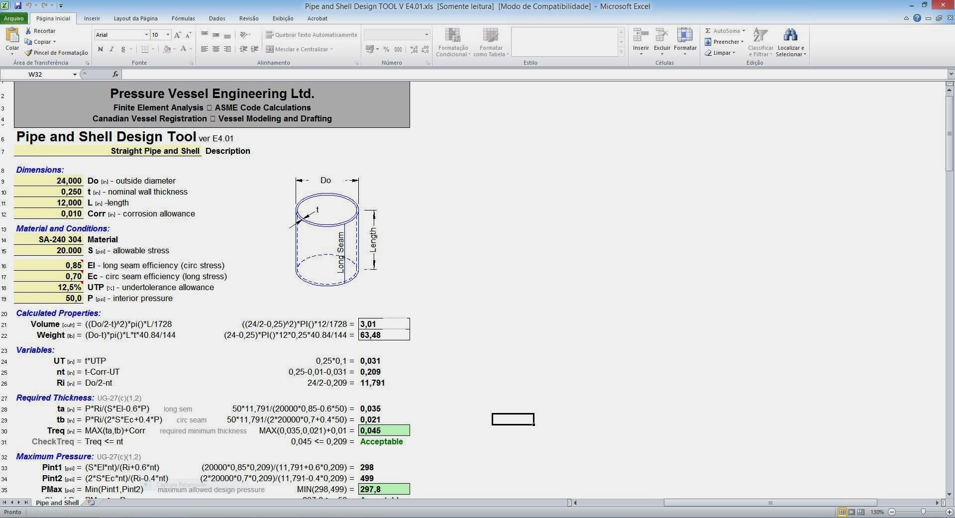 free compressor calculation spreadsheet