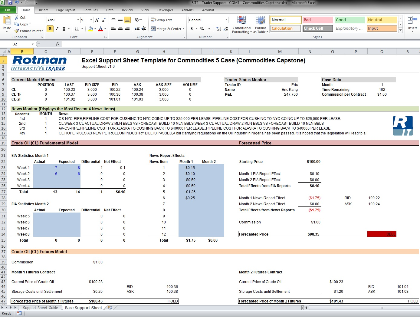 free templates Contract Management Excel Spreadsheet