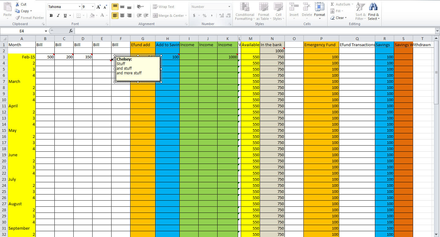 how to create a budget spreadsheet in excel natural buff dog. Black Bedroom Furniture Sets. Home Design Ideas