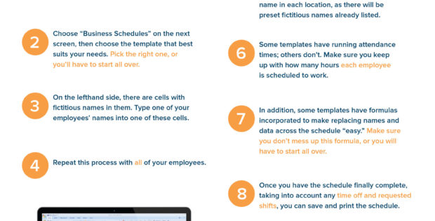 Restaurant Employee Schedule Template Excel Natural Buff Dog