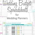 Download Free Printable Wedding Budget Spreadshee
