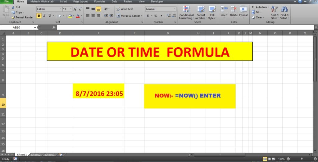 Excel Spreadsheet Formulas If Then