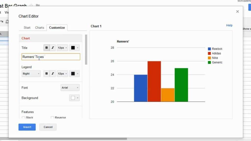 Google Spreadsheet Graph