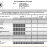 Health Insurance Comparison Spreadsheet