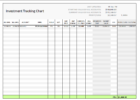 Templates investment tracking spreadsheet Free