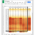 create calendar in google spreadsheet