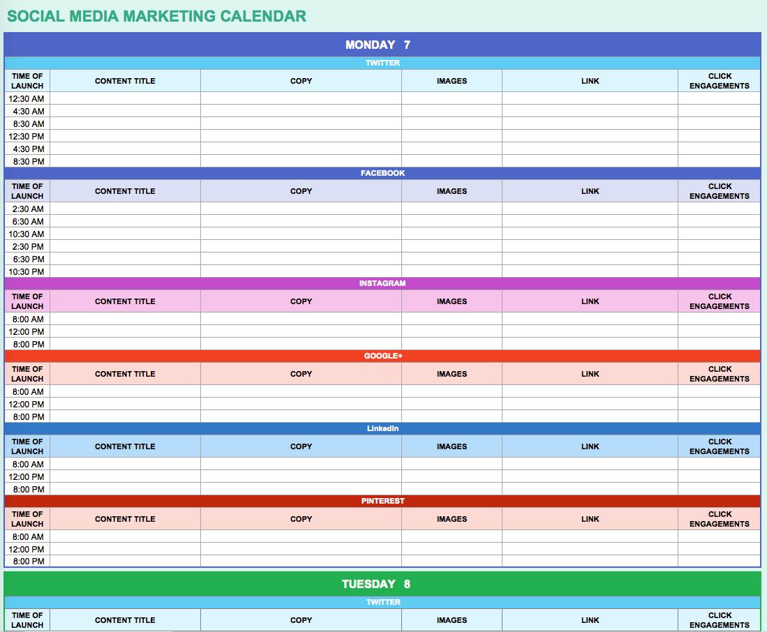 download Google Docs Calendar Spreadsheet Template