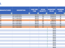 download order tracking spreadsheet template free