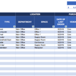 download tracking spreadsheet template excel