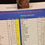 food inventory sheet printable