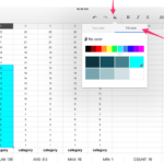 google docs spreadsheet graph
