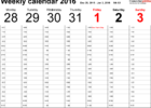 google sheets calendar template 2018