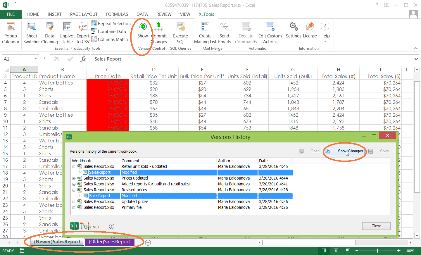 How do i share an excel spreadsheet on google docs for Google documents version control