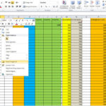 how to create an excel spreadsheet for bills