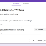 how to use google sheets on ipad