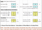 hvac heat load calculation excel sheet