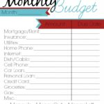 paycheck budget planner