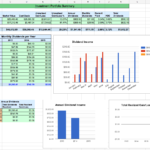 stock investment tracking spreadsheet template