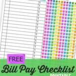 template Free Bill Management Spreadsheet