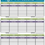 template How To Make Your Own Budget Spreadsheet