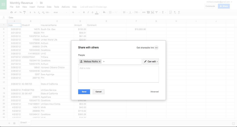 templates free Google Spreadsheet Vs Excel