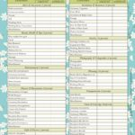 Download Wedding Invite Spreadsheet