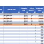 Spreadsheet Inventory Tool Isaca - Mechanic Tool Inventory Spreadsheet
