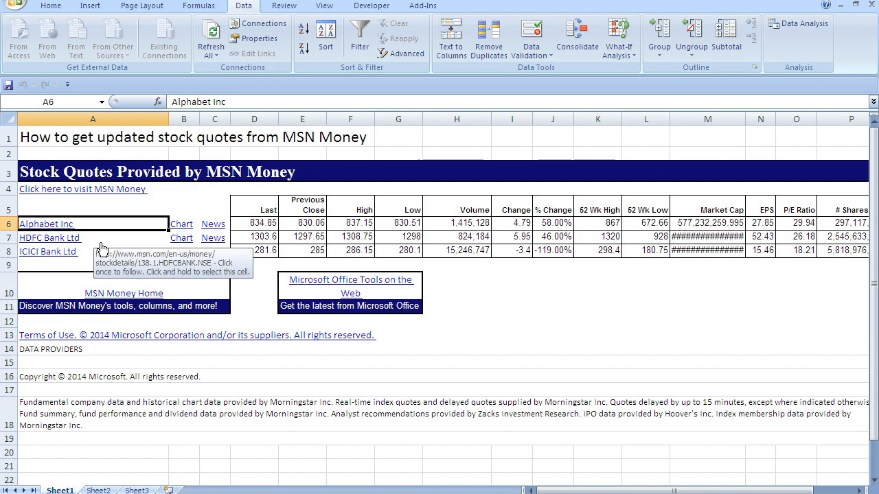 Stock Fundamental Analysis Spreadsheet Free