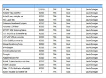 Tool Inventory Form - Excel Tool List Template