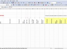 excel template for tax expenses download templates