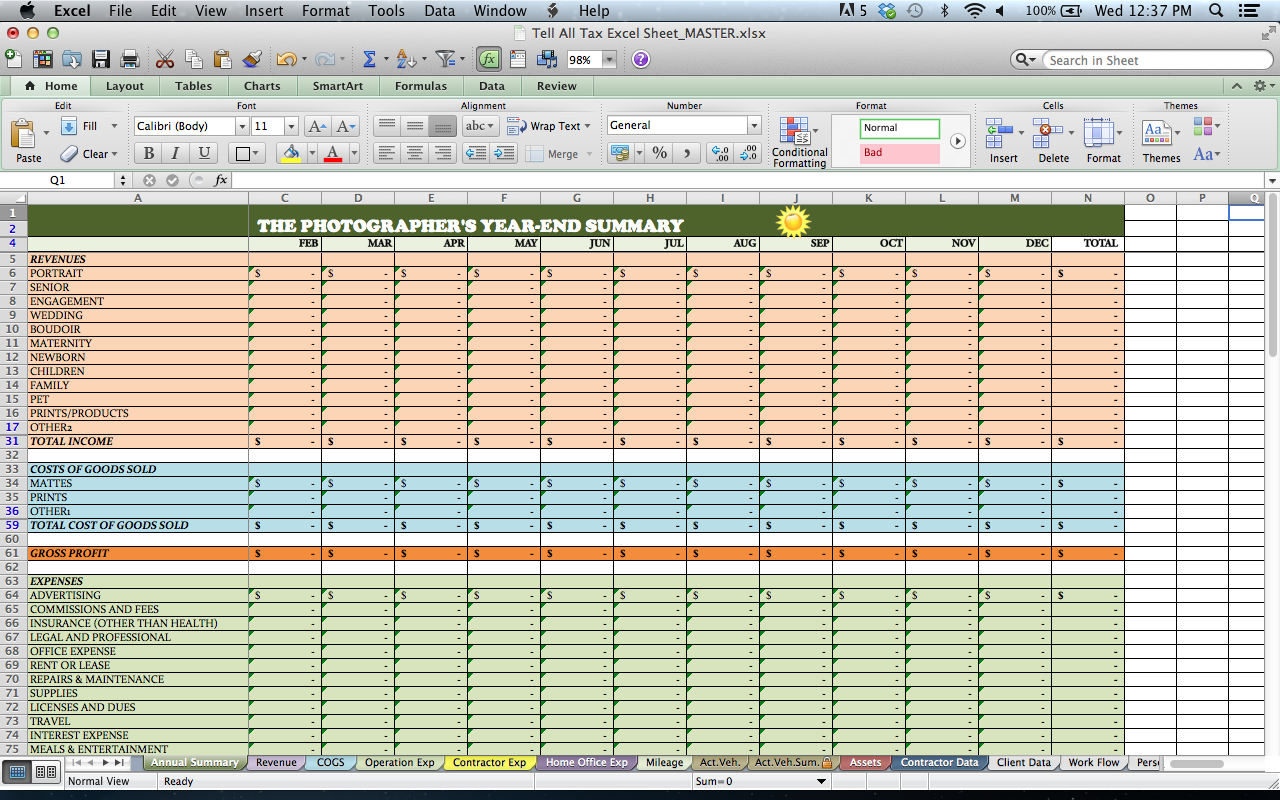 tax spreadsheets elita aisushi co