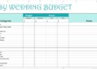free printable wedding planner workbook