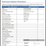 retirement budget calculator