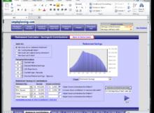 retirement income planning spreadsheet