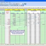self employed expenses spreadsheet template free