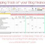 spreadsheet for monthly bills